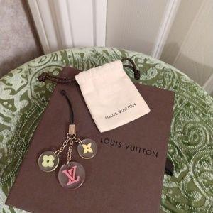 Louis Vuitton Fleur Initial Bag or Mobile Charm